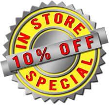 CFI Vacuum 10 Percent Off In Store Special